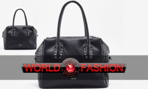 La top-handle bag strong di Gaudì per un look rock e aggressive